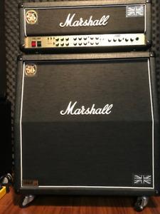 2008 MARSHALL JCM 2000 TSL / 1960 A CAB -MINT -