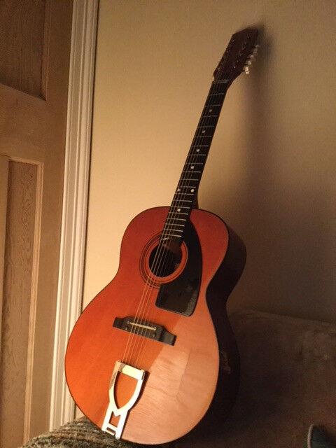Vintage Eko Navajo 12 String Acoustic Guitar Early 70s
