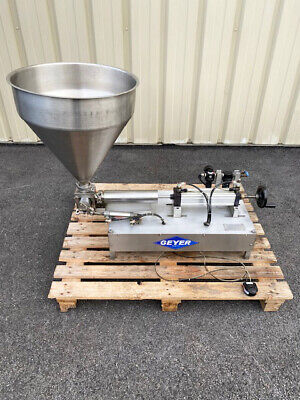 Geyer Fill-master 5000 Table Top Piston Filler