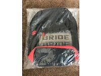 JDM Bride Sparco Red Backpack Bag Racing Harness as Straps Brand New