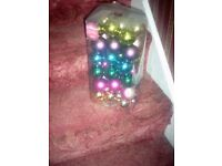 Large pack of Christmas Baubles