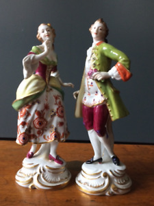 The Courtiers - Vintage Figurines