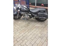 125cc keeway custom made motorbike. Great going bike has been well looked after!
