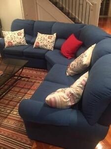 5 Seater Modular Sofa North Melbourne Melbourne City Preview