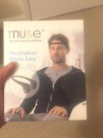 New/ unopened Meditation Made Easy - Muse the brain sensing headband