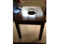 Extendable Dining Table - solid dark oak