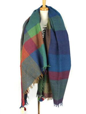 Jurgen Lehl Japan Pure Wool Knit Scarf as New RRP$608