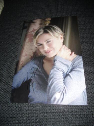 Renée Zellweger signed Autogramm auf SEXY 20x30 cm Foto InPerson LOOK