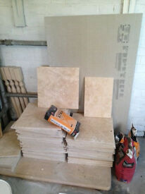 Travertine tiles for sale with grout.Travertine stone light biege