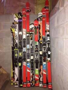 Variety of great race skis and gear for sale
