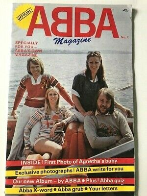 Official ABBA Magazine no. 2
