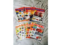 DIECAST COLLECTOR & MODEL COLLECTOR MAGAZINES 16 ISSUES £5