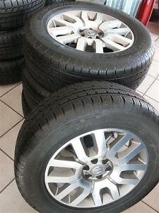 Nissan Navara (D40) Original Alufelgen Felgen + Reifen Neu Typ V6 Kompletträder