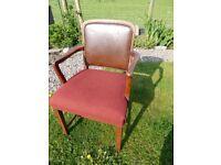 Old Oak Chair - interesting shape