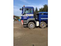 MAN 8X4 TIPPER