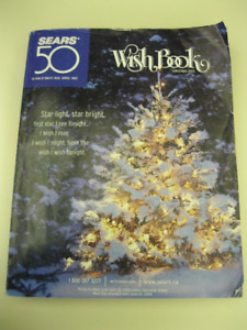 FOR SALE SEARS CANADA CHRISTMAS WISH BOOKS