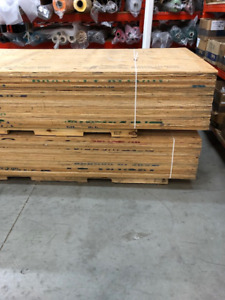 Gently used plywood