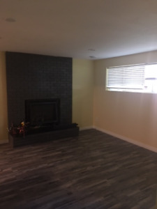 New spacious bright one bedroom plus den with gourmet kitchen