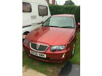 Rover 75 fire fox red