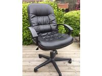 large Leather Office Chair