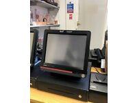 Casio QT-6600 15' Touch Screen Terminal EPOS Till Cash Register