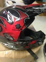 HJC MX HELMET,CHEST,SHIN PROTECTOR,GOGGLES PACKAGE