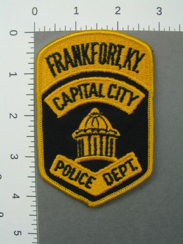 713 Kentucky  FRANKFORT POLICE DEPARTMENT Patch Franklin County
