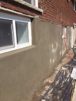 Foundation Repair/Parging