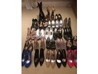 SHOES SHOES SHOES ! large selection, size 6, some brand new. Come and have a browse !