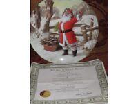 Franklin Mint Christmas Plate