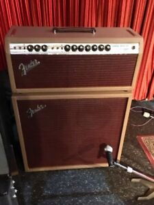 1969 Customized Fender Super Reverb with Celestion speakers.