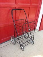 4-wheel collapsible shopping/newspaper cart … BRAND NEW!