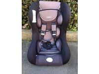 TRIO Driver Group 1 Black and Grey Car Seat