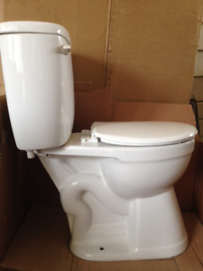 """Toilet for sale.  Tall style 19"""""""