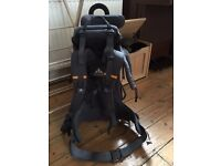 Vaude Baby Backpack - used once - perfect condition - ages 3 months to 2 years