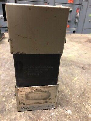 Sola 23-22-112-2 Constant Voltage Transformer 120va 120v Output