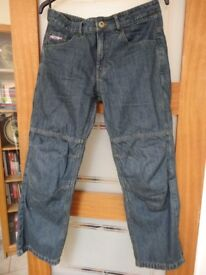 Motorcycle RST Kevlar Jeans Size 34S