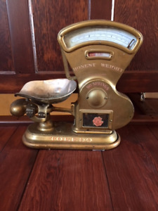 Antique Weigh Scale