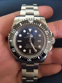 Rolex Sea-Dweller DeepSea D-Blue Dial Deep Blue 116660 James Cameron Watch