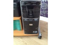 hp complete 3gb, 2.70ghz, win 7, monitor, keyboard