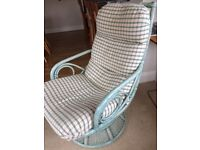 Chair - Rock and Swivel Pair: perfect for conservatory