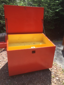 Heavy Steel Job Tool Box