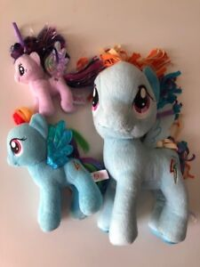 LOT DE PELUCHES et MINI FIGURINES MY LITTLE PONEY