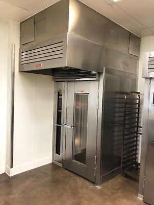 Lbc 2014 Single Gas Roll-in Rack Oven Model Lro-1g4 Used In Great Condition