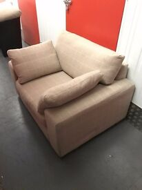 2 year old 3 seater sofa + large Snug Chair