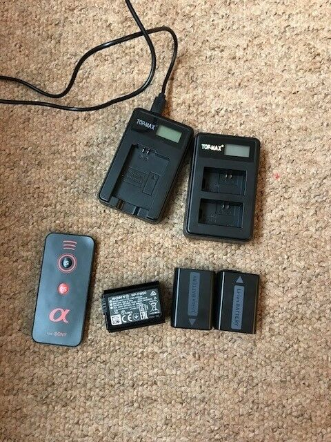 Sony NP-FW50 camera batteries