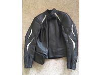 Ladies Hein Gericke Leather Motorcycle Jacket