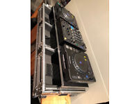 2 x Pioneer CDJ Mk3, DJM800,Studio Beats Headphones and Magma Flightcase