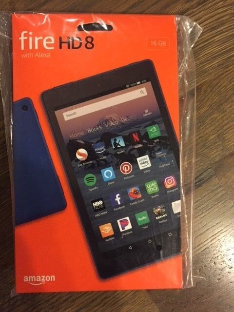 All New Amazon Kindle Fire HD 8 Tablet 16 GB 2018 8th Gen. H