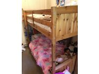Bunk beds that convert to 2 x single beds.